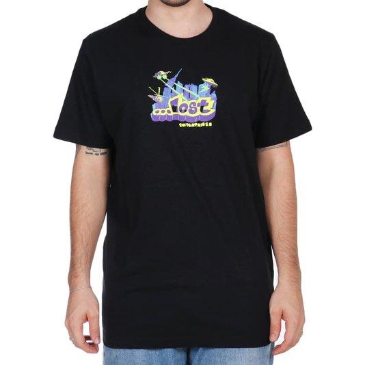 Camiseta Lost Sheep Invader Preto