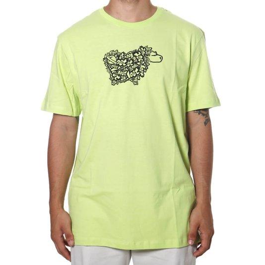 Camiseta Lost Sheep Logo Verde