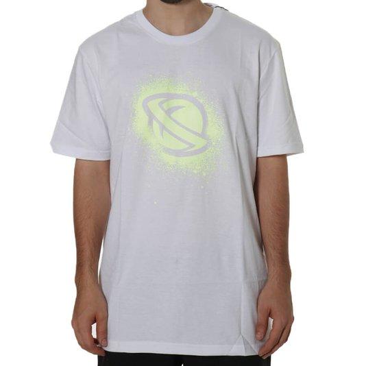 Camiseta Lost Stencil Branco