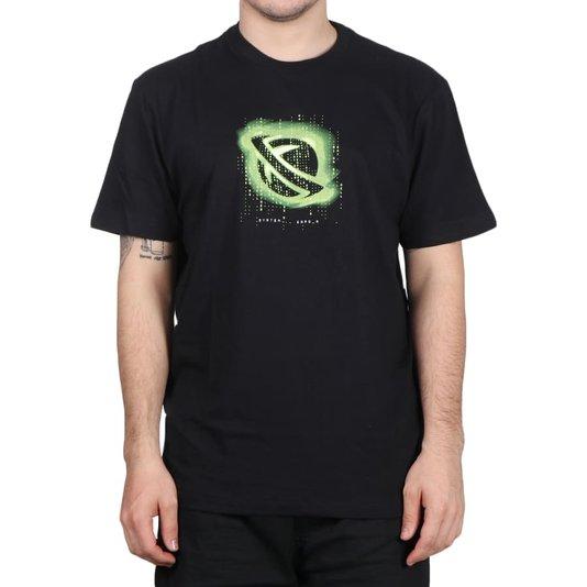 Camiseta Lost  System Error Preto