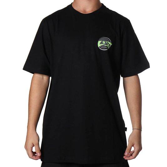 Camiseta Lost Team Logo Preto