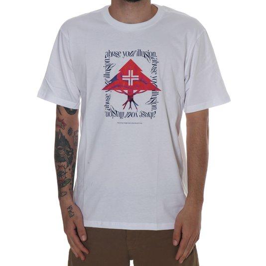 Camiseta Lrg Illusion Branco