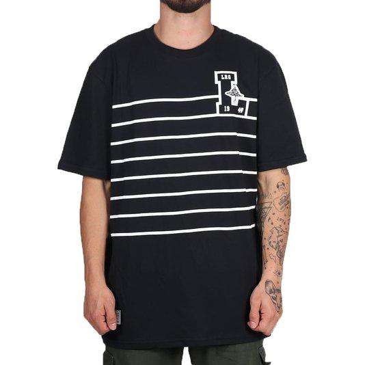 Camiseta Lrg Natural Preto
