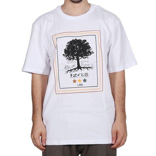 Camiseta Lrg Roots People Branco