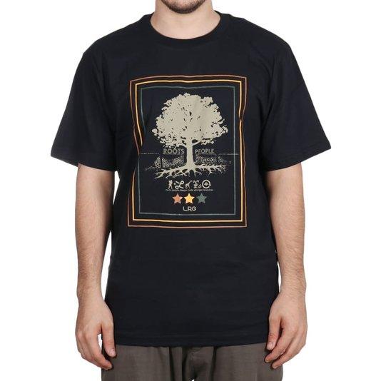Camiseta Lrg Roots People Preto