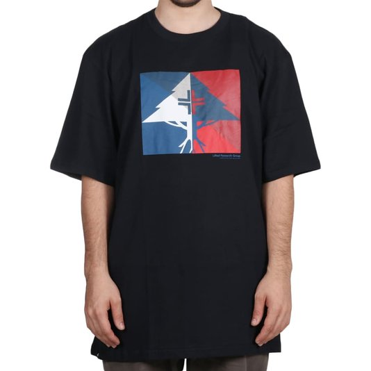 Camiseta Lrg Shaded Oversize Preto