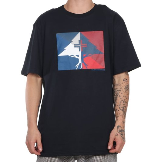 Camiseta Lrg Shaded Preto