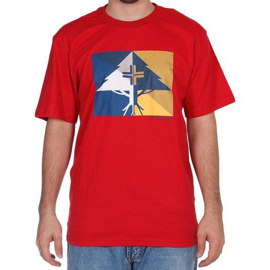 Camiseta Lrg Shaded Vermelho