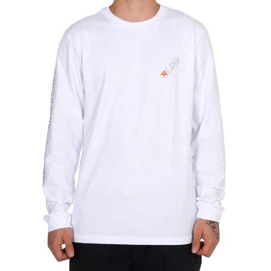 Camiseta Lrg Slant M/L Branco