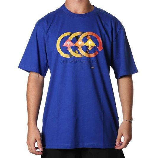 Camiseta Lrg Vision Azul