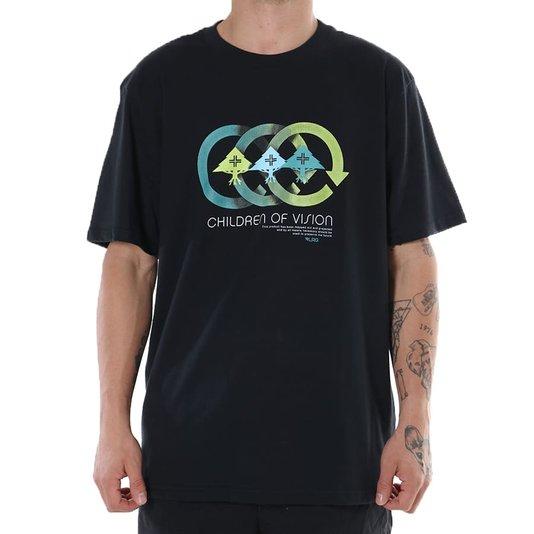 Camiseta Lrg Vision Preto