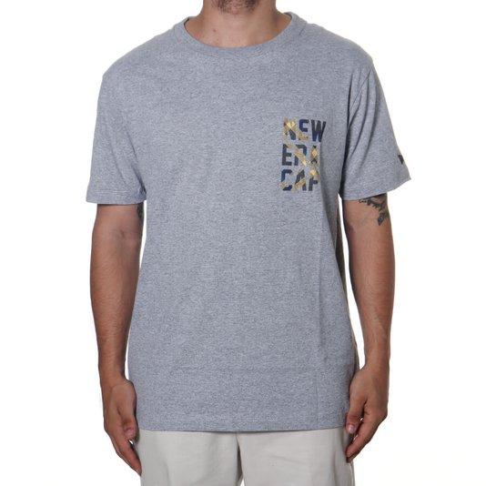 Camiseta New Era Plaid Cap Mescla