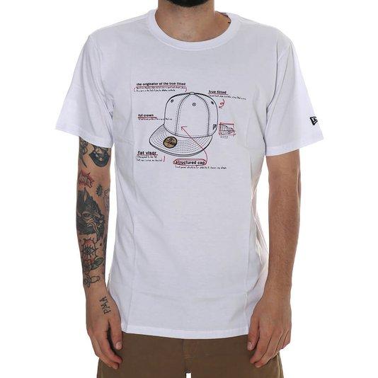 Camiseta New Era Sport Cap Brand Branco
