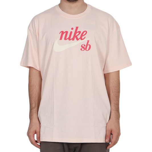 Camiseta Nike Sb Logo Classic Rose