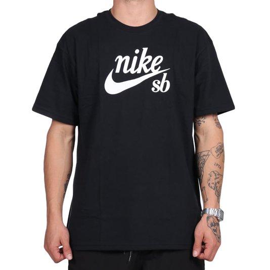 Camiseta Nike Sb Loose Fit Preto