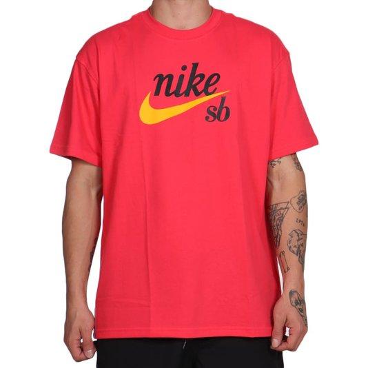 Camiseta Nike Sb Loose Fit Vermelho