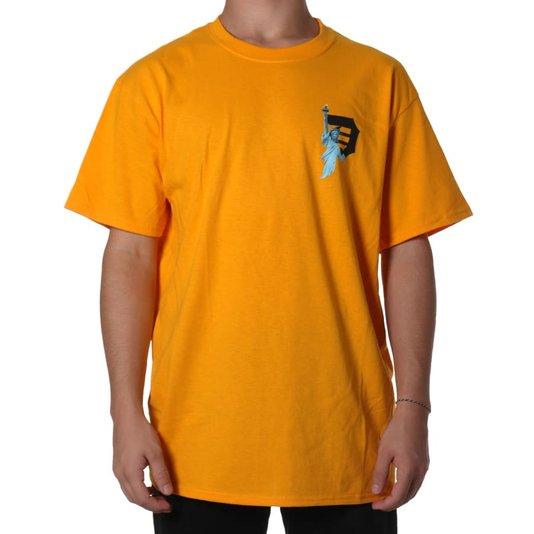 Camiseta Primitive Beacon Amarelo