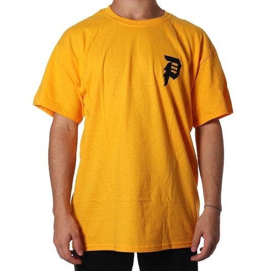 Camiseta Primitive Dirty P Core Amarelo