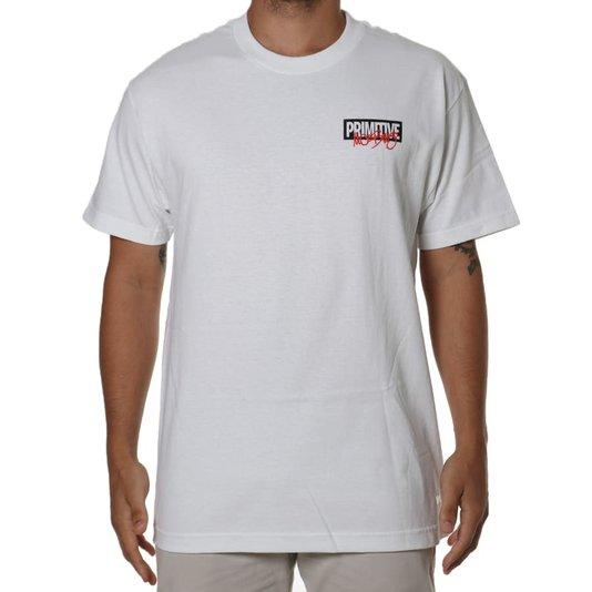 Camiseta Primitive Iron Man Branco