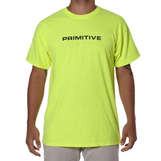 Camiseta Primitive Zenith Verde Neon