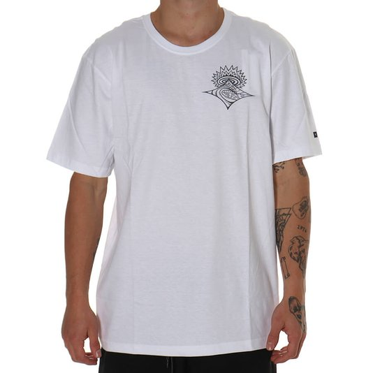 Camiseta Rip Curl Scorched Earth Branco