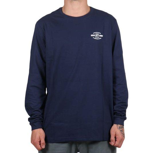 Camiseta Rock City 10th Anniversary Edition M/L Azul Marinho