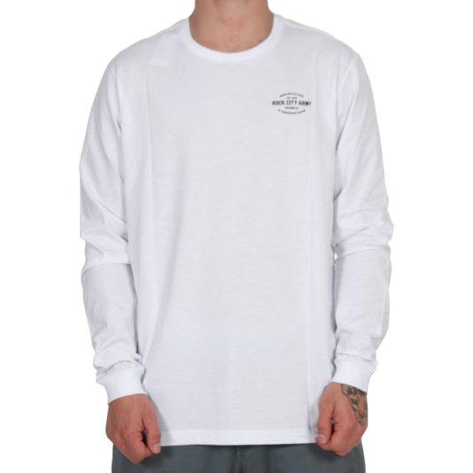 Camiseta Rock City 10th Anniversary Edition M/L Branco