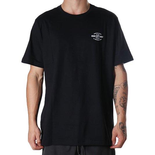 Camiseta Rock City 10th Anniversary Edition Preto