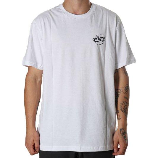 Camiseta Rock City Army Attitude Inc. Branco