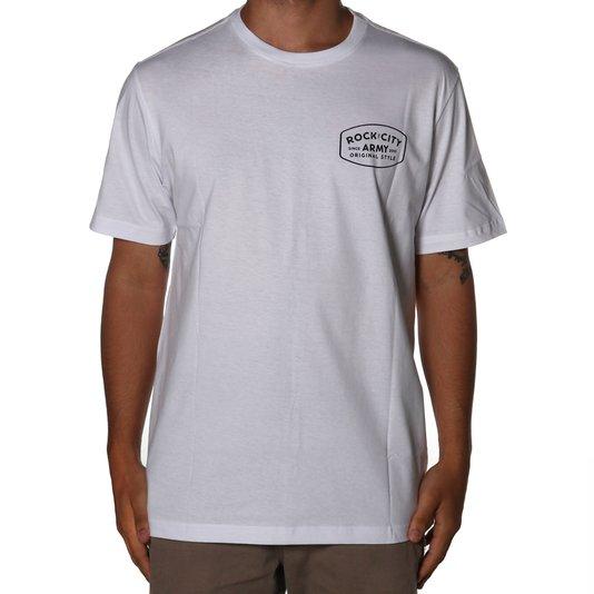 Camiseta Rock City Army Original Style Branco