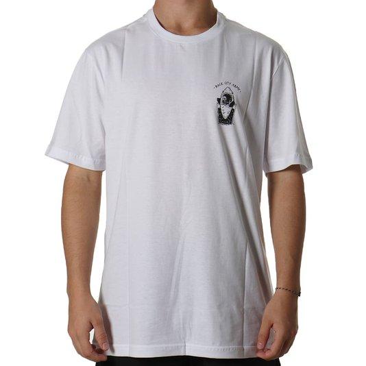 Camiseta Rock City Baby Shark Marco Iglesias Branco