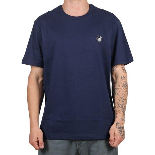 Camiseta Rock City Icon Básica Azul Marinho