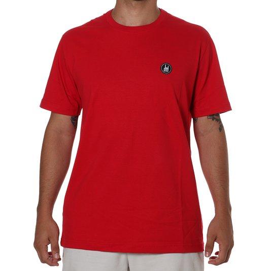 Camiseta Rock City Icon Básica Coral