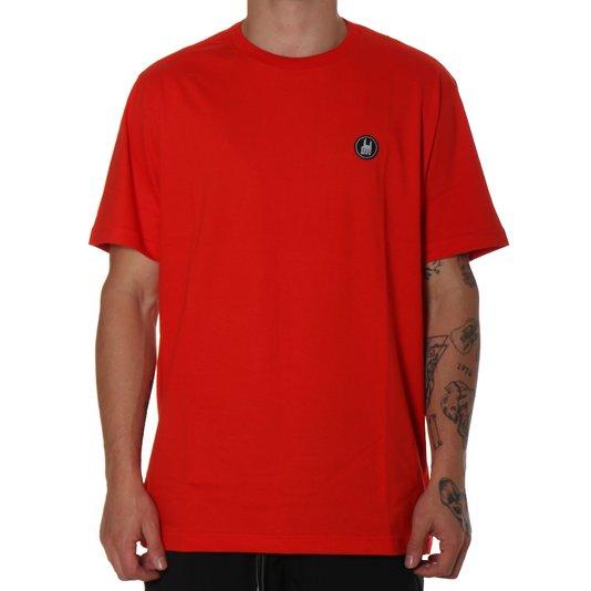 Camiseta Rock City Icon Básica Laranja