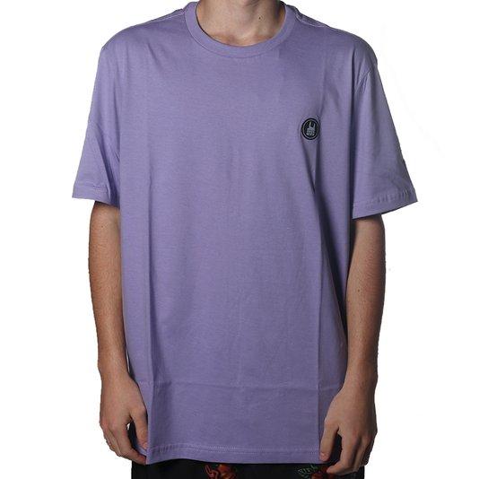 Camiseta Rock City Icon Básica Lilás