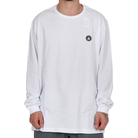Camiseta Rock City Icon Básica M/L Branco