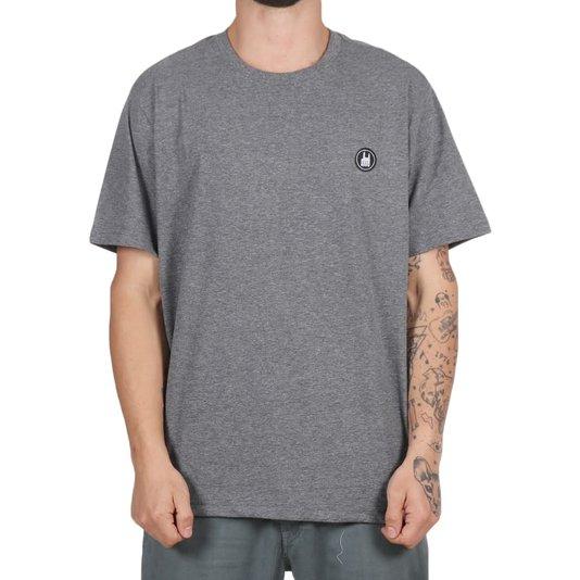 Camiseta Rock City Icon Básica Mescla Escuro