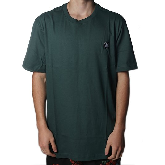 Camiseta Rock City Icon Básica Verde