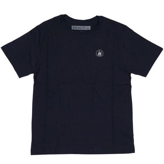 Camiseta Rock City Icon Infanto - Juvenil Azul Marinho