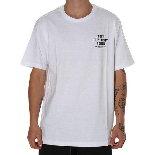 Camiseta Rock City Mini South Branco