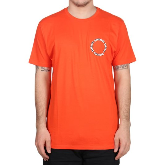 Camiseta Rvca Baker Laranja