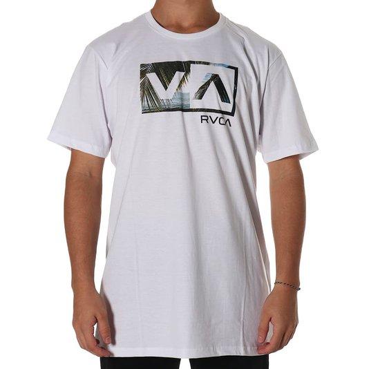 Camiseta Rvca Balance Box Branco