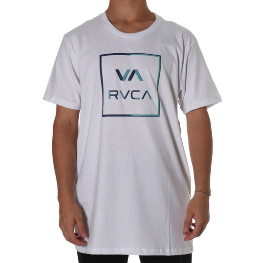 Camiseta Rvca Circuit Branco