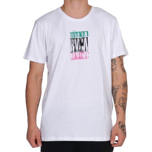 Camiseta Rvca Condensend Branco