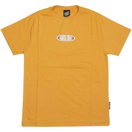 Camiseta Santa Cruz Infanto - Juvenil Religion Amarelo