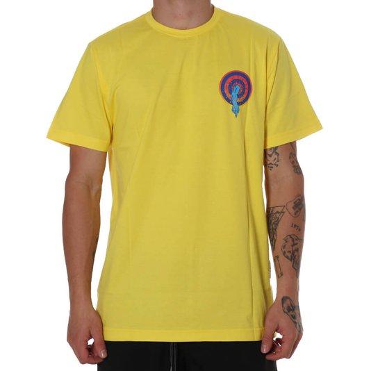 Camiseta Santa Cruz Roskopp Dot Amarelo