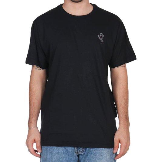 Camiseta Santa Cruz Screaming Hand Chest Preto