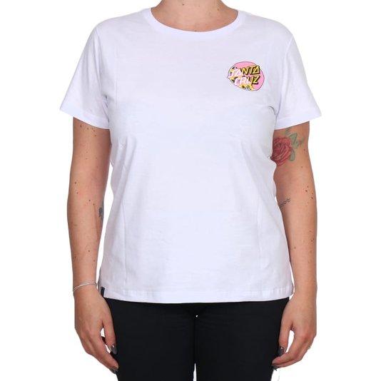 Camiseta Santa Cruz Vacation Other Splice Feminina Branco