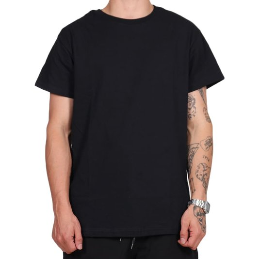 Camiseta Straye Cheetah Trap Preto