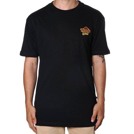 Camiseta Thank You Global Preto
